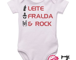Body Personalizado Baby Rock