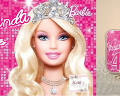 Papel Arroz + Vela BARBIE