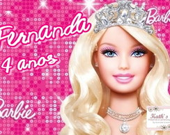 Papel Arroz BARBIE