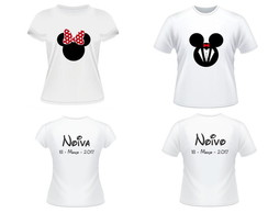 Kit noivos Minnie e Mickey