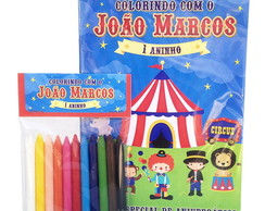 Kit de Colorir Tema Circo