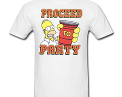 Camiseta Homer Party