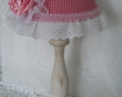 Abajur Estilo Country/Shabby Chic