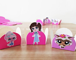 Forminha de doces Littlest pet shop