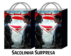 Sacolinha - Batman vs Superman