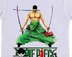 Camiseta infantil One Piece Zoro