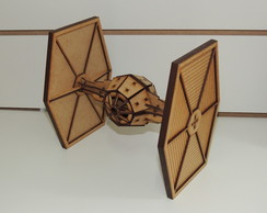 Nave Tie Fighter MDF Star Wars