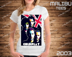 baby look Coldplay bandas rock cantor