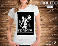 baby look Foo Fighters bandas rock