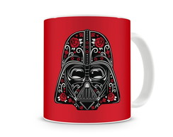 Caneca Star Wars Darth Vader Red