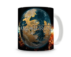 Caneca Game of Thrones World
