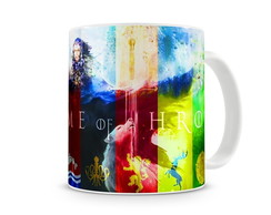 Caneca Game of Thrones Casas IV
