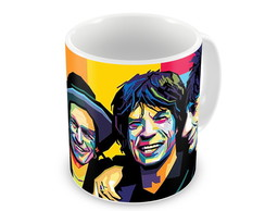 Caneca Rolling Stones Color