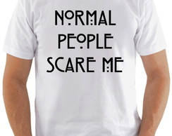 Camiseta AHS #2 Normal People Scare me