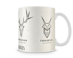 Caneca Game of Thrones Simbolos