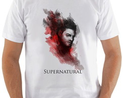 Camiseta Supernatural #3 Castiel