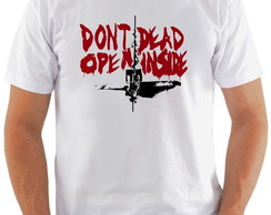 Camiseta The Walking Dead #4 Dont open