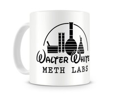 Caneca Breaking Bad Walter White MethLab