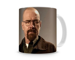 Caneca Breaking Bad Walter White Perfil