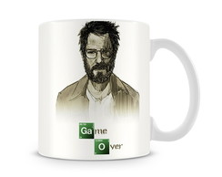 Caneca Breaking Bad Walter Game Over