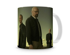 Caneca Breaking Bad Walt, Jesse e Mike