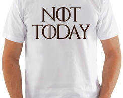 Camiseta Game Of Thrones #14 Not Today