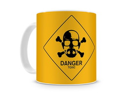 Caneca Breaking Bad Walt Toxic Danger