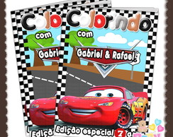 Revista de Colorir Carros