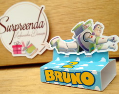 Caixa Chocolate Duplo Buzz - Toy Story