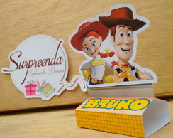 Caixa para Chocolate duplo Toy Story