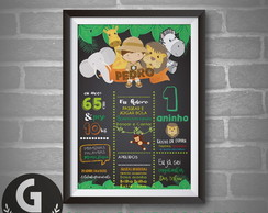 Chalkboard - Arte digital - TEMA SAFARI