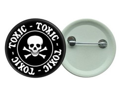 Botton 3,5 - Toxic - Boton