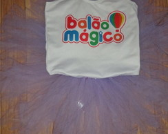 Kit saia tutu + collant personalizados