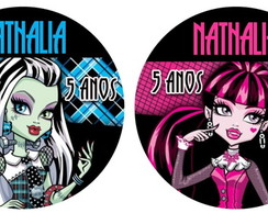 MONSTER HIGH, PINK COM PRETO