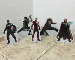 Kit de Display Vingadores de 30 cm