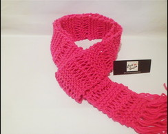 Cachecol Rosa Pink - Pequeno -