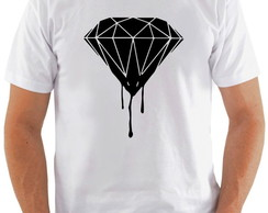 Camiseta Diamante Dripping Diamond