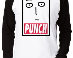Camiseta Raglan One Punch Man #3 Punch