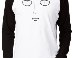 Camiseta Raglan One Punch Man #9 Face