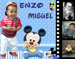 Banner Mickey Baby 100x70