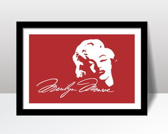Quadro Marilyn Monroe MM1 c/ Moldura