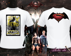 Camiseta - Batman Vs Superman