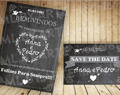 Kit Digital Save the date + Chalkboard1