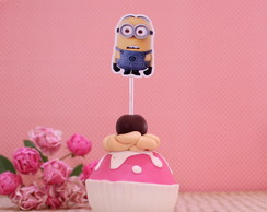 Topper para doces - minions