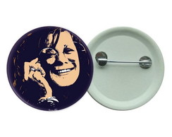 Botton 3,5 - Janis Joplin Botons Rock