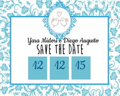 Save The Date 10x6