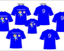 fbef827d8d ... Kit camisetas personalizadas aniversario Futebol