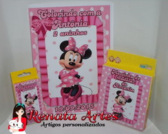 Kit passatempo Minnie Rosa