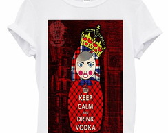 T-Shirt - Matrioska Keep Calm