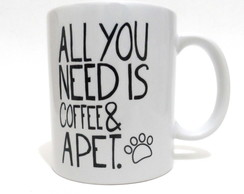 Caneca Gato Cachorro All you need